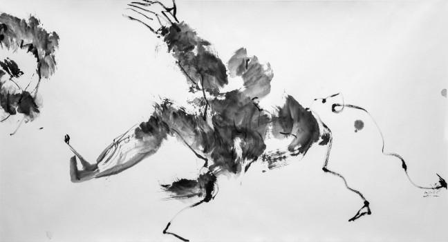 Danser, Penser 2015 97 X 180 cm Kyoo Lee