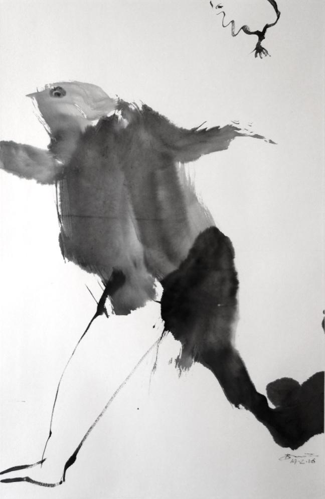 Voler 2016 66 X 45 cm