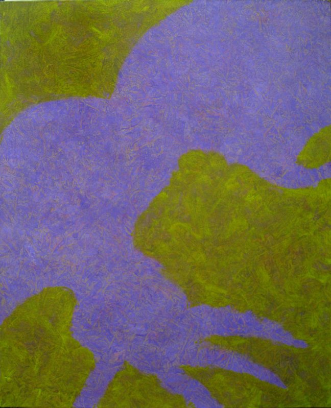 Chromotopie, quintette 1 色境五重奏 1, 2012, 100 X 81 cm