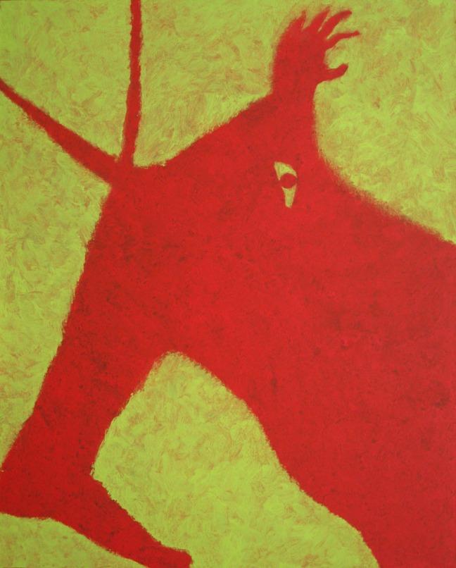 Observateur观察家, 2009, 162 X 130 cm