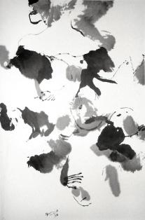 Remous, 2008, 66 X 45 cm