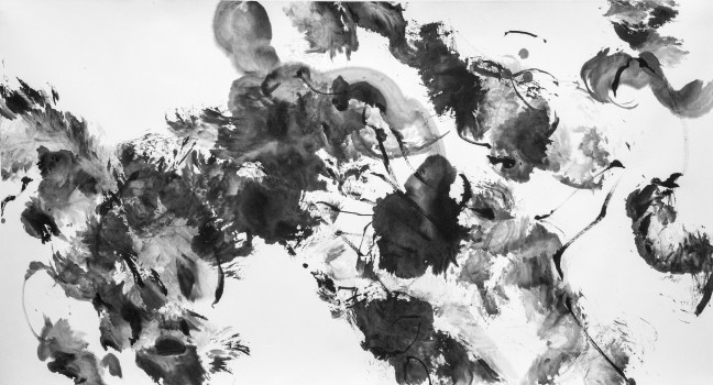 Figure 1 Sans titre, 19 août 2015 180 X 97 cm