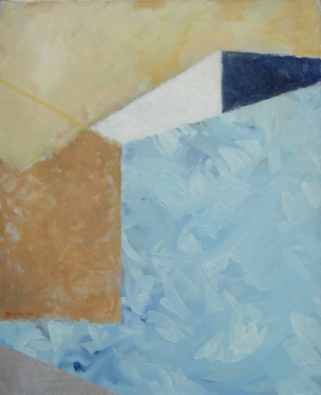 Figure 11存在之盒-水壁,2006, 73 X 60 cm