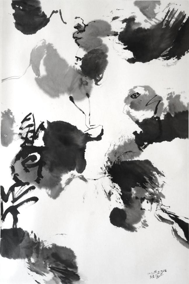 Figure 3 Sans titre IV, 2 mars 2016 66 X 45 cm
