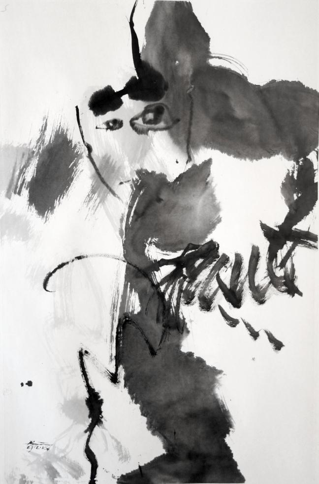 Figure 4 Sans titre VI, 25 fevrier 2016 66 X 45 cm