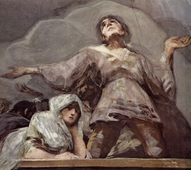 Figure 6 Goya San Antonio de la Florida 1798 Detail