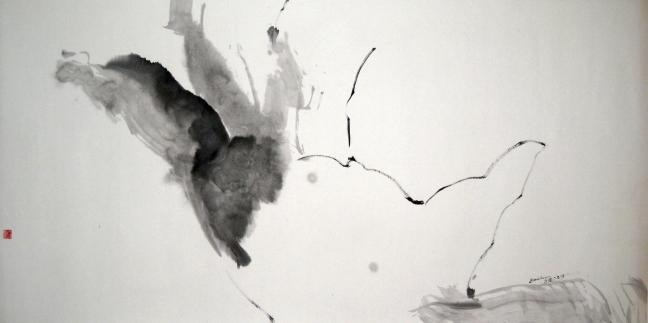 Figure 25 灵光闪现的手, 2008, 68 X 139 cm灵光闪现的手 2008, 68 X 139 cm
