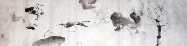 Figure 28 孟克色拉 2006 34 X 138 cm