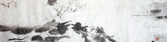 Figure 29 明亮度密西西比 2006 34 X 138 cm