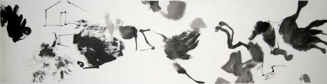 Figure 31 Mélopée, 2008, 34 X 138 cm